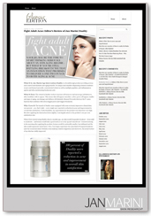 skincare media article